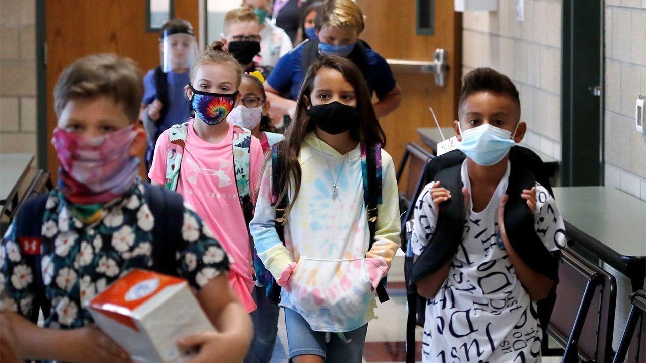 teenagers at school